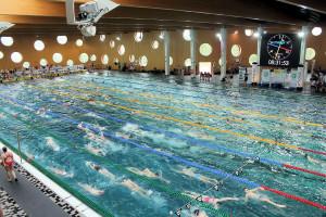 Grand Prix - Puchar Polski w pływaniu09-10 maja 2015r.fot. Bogusław Kwaitkowski0438
