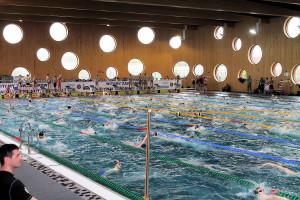 Grand Prix - Puchar Polski w pływaniu09-10 maja 2015r.fot. Bogusław Kwaitkowski0444