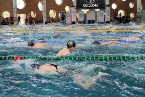 Grand Prix - Puchar Polski w pływaniu09-10 maja 2015r.fot. Bogusław Kwaitkowski0447