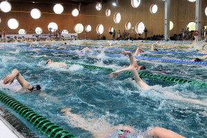 Grand Prix - Puchar Polski w pływaniu09-10 maja 2015r.fot. Bogusław Kwaitkowski0450