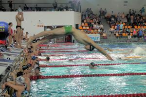 Grand Prix - Puchar Polski w pływaniu09-10 maja 2015r.fot. Bogusław Kwaitkowski0451