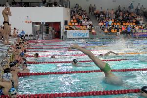 Grand Prix - Puchar Polski w pływaniu09-10 maja 2015r.fot. Bogusław Kwaitkowski0452