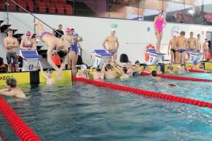 Grand Prix - Puchar Polski w pływaniu09-10 maja 2015r.fot. Bogusław Kwaitkowski0457