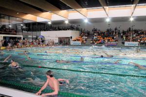 Grand Prix - Puchar Polski w pływaniu09-10 maja 2015r.fot. Bogusław Kwaitkowski0461