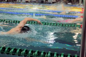 Grand Prix - Puchar Polski w pływaniu09-10 maja 2015r.fot. Bogusław Kwaitkowski0468
