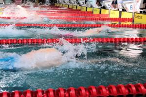 Grand Prix - Puchar Polski w pływaniu09-10 maja 2015r.fot. Bogusław Kwaitkowski0469