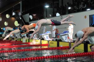 Grand Prix - Puchar Polski w pływaniu09-10 maja 2015r.fot. Bogusław Kwaitkowski0471