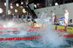 Grand Prix - Puchar Polski w pływaniu09-10 maja 2015r.fot. Bogusław Kwaitkowski0472