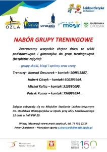 Grupy naborowe-Stadion