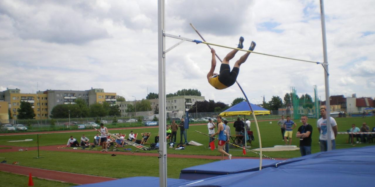 Trening lekkoatletów