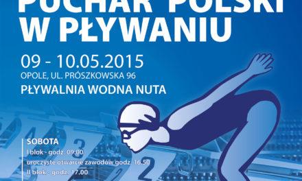 """GP Puchar Polski w Pływaniu – Polska czołówka pływaków na """"WODNEJ NUCIE"""" w Opolu"""