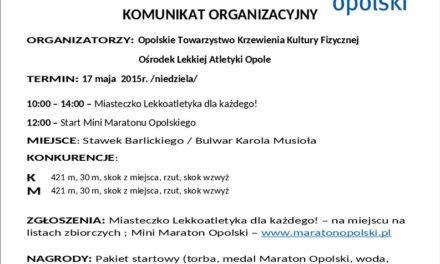 Mini maraton Opolski