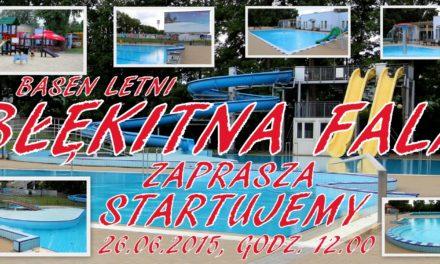Bezpłatne pływanie na basenie Błękitna Fala