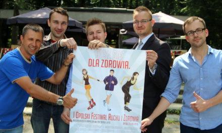 I Opolski Festiwal Ruchu i Zdrowia zaprasza do wspólnej zabawy