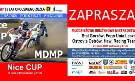 Nice Cup i MDMP na opolskim żużlodromie