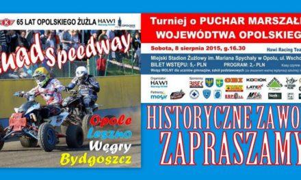 Czwórmecz Quad Speedway pierwszy raz w Opolu