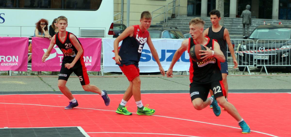 Turniej koszykówki 3×3