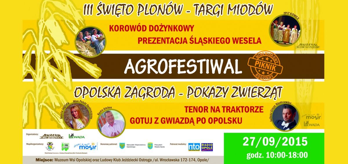 Zaproszenie na AGROFESTIWAL