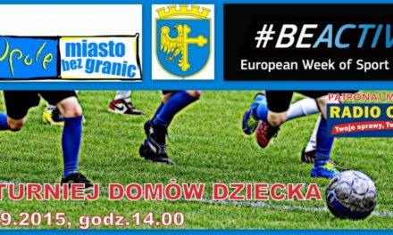 IV Turniej Piłki Nożnej Domów Dziecka