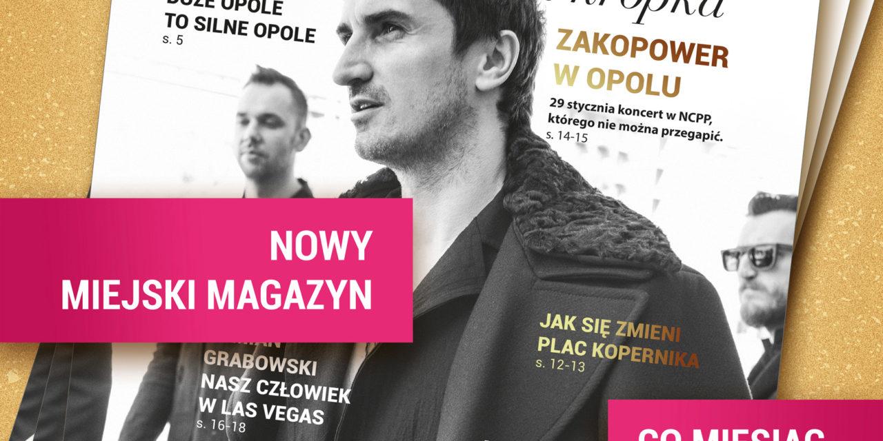 """Nowy magazyn miejski """"Opole i kropka"""""""