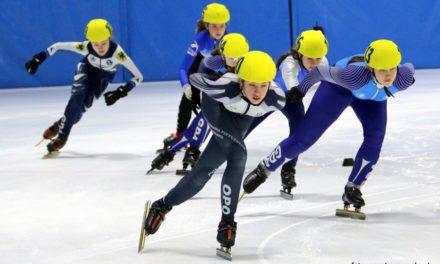 Najlepsi łyżwiarze short tracku przez dwa dni ścigali się na opolskim Toropolu