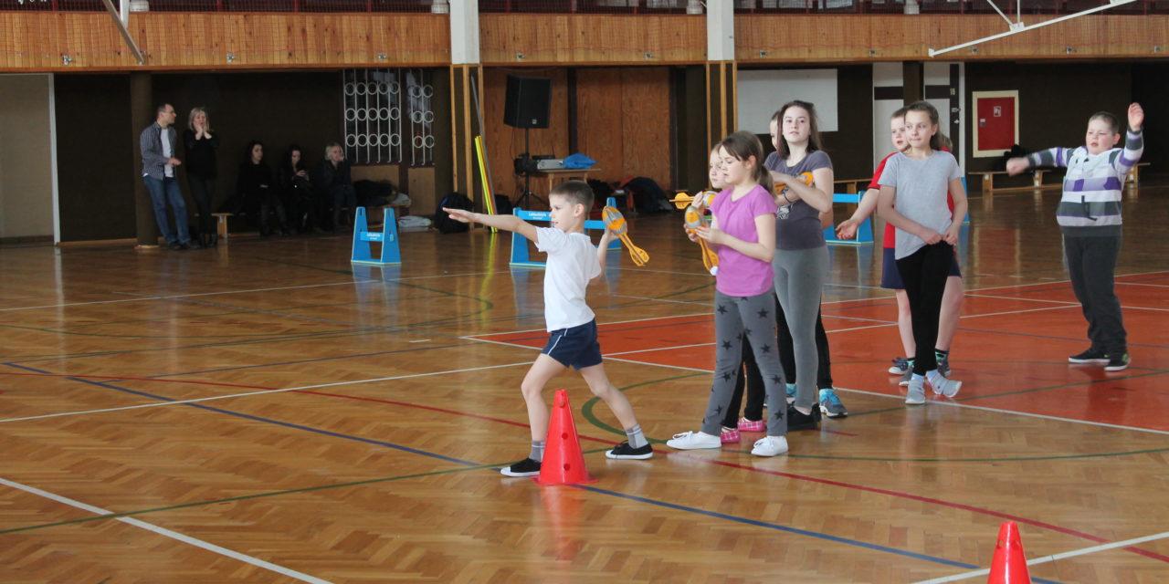Spartakiada lekkoatletyczna w ramach Białej Zimy z MOSiR