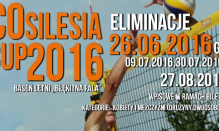 ECO SILESIA CUP 2016 TURNIEJ SIATKÓWKI PLAŻOWEJ