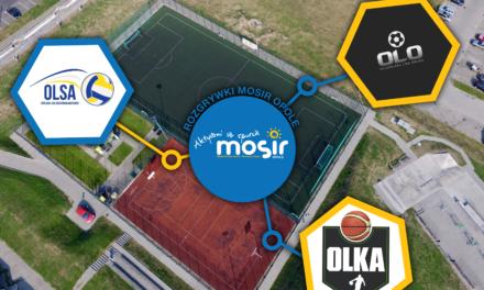 OLO – Opolska Liga Orlika; OLKA- Opolska Liga Koszykówki; OLSA- Opolska Liga Siatkówki