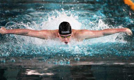 ARENA GRAND PRIX PUCHAR POLSKI w pływaniu 2017 z rekordem Polski w stylu grzbietowym.