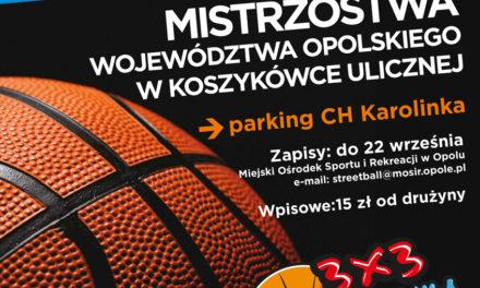 Mistrzostwa Województwa Opolskiego 3×3 Karolinka Streetball