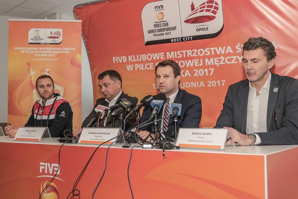 Opole – oficjalnie gospodarzem FIVB Klubowych Mistrzostwa Świata w Piłce Siatkowej Mężczyzn Polska 2017
