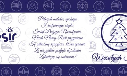 Harmonogram godzin otwarcia obiektów Miejskiego Ośrodka Sportu i Rekreacji w Opolu