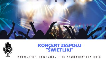 """Koncert zespołu """"Świetliki"""""""