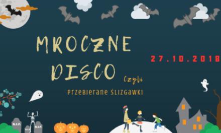 """Mroczne Disco czyli przebierane ślizgawki na lodowisku """"Toropol"""""""