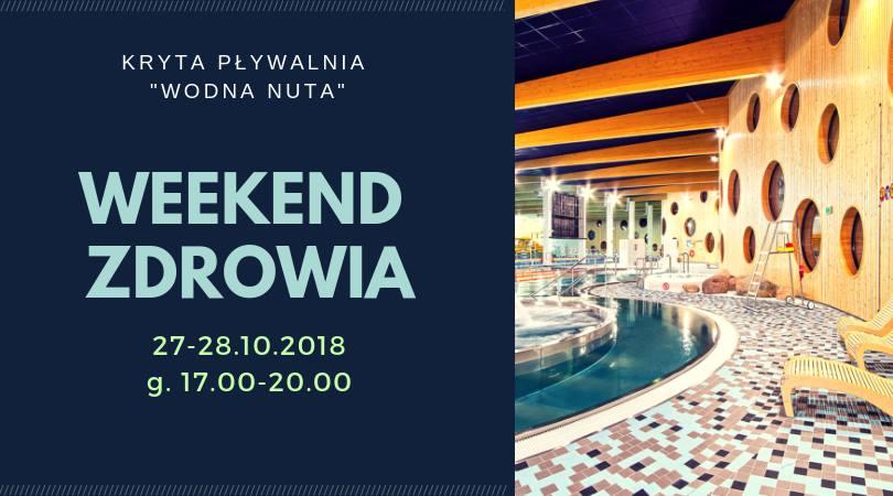 Weekend Zdrowia na Wodnej Nucie – 27.-28.10.2018