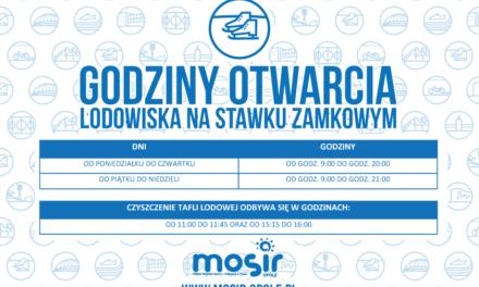 Cennik, godziny otwarcia i regulamin Lodowiska na Stawie Zamkowym- Zima 2018/2019