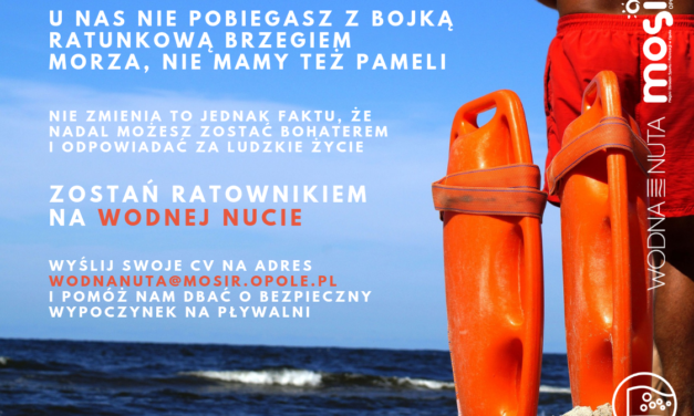 Wodna Nuta szuka ratownika – zgłoś się!