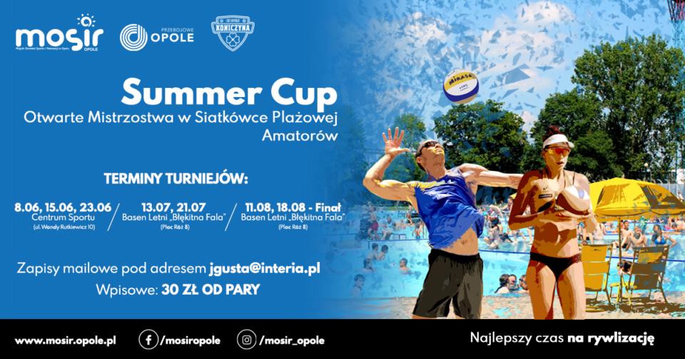 SUMMER CUP – Otwarte Mistrzostwa w Siatkówce Plażowej Amatorów