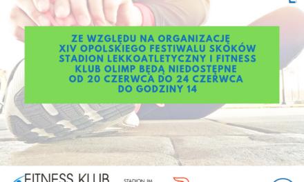 Stadion Lekkoatletyczny i Fitness Klub Olimp podczas Festiwalu Skoków