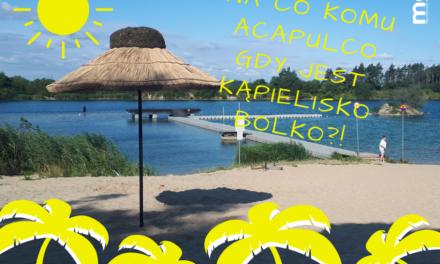 Hawajskie parasole na Kąpielisku Bolko