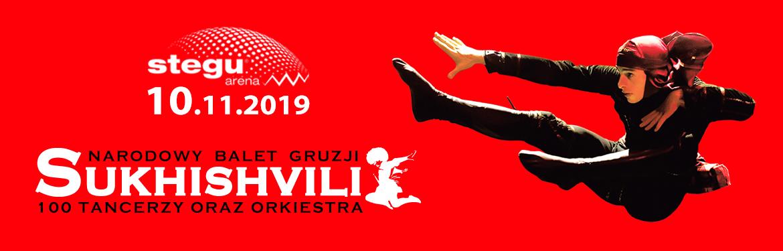 Sukhishvili – Narodowy Balet Gruzji w Stegu Arenie