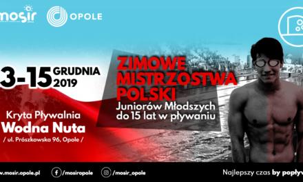 Zimowe Mistrzostwa Polski Juniorów Młodszych do lat 15 w pływaniu
