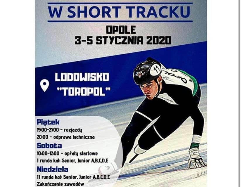 Ogólnopolskie zawody rankingowe w Short Tracku