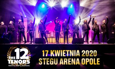 12 znakomitych wokalistów wystąpi w Stegu Arena Opole