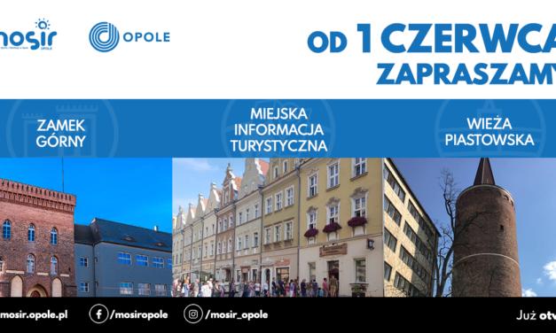 Od 1 czerwca zapraszamy ponownie do odwiedzin Wieży Piastowskiej, Zamku Górnego oraz Miejskiej Informacji Turystycznej