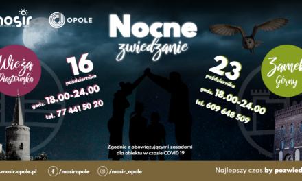 Nocne zwiedzanie Wieży Piastowskiej oraz Zamku Górnego