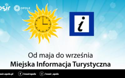 Miejska Informacja Turystyczna zmienia godziny funkcjonowania