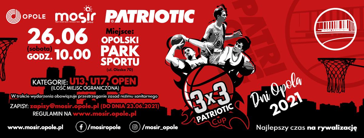 3X3 PATRIOTIC CUP – ZAPISZ SIĘ JUŻ DZIŚ!